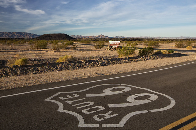 Amboy Crater - Route 66