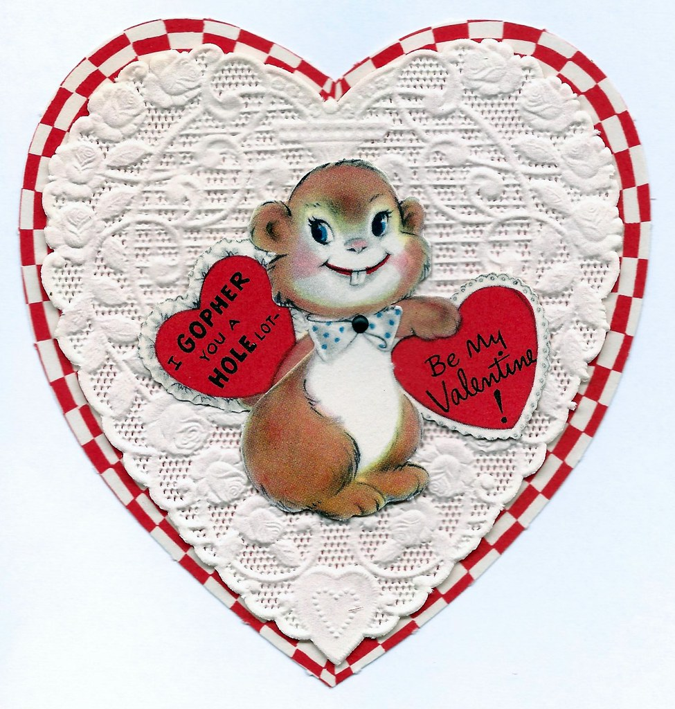 Vintage Valentine Day Greeting Card From American Greeting Flickr