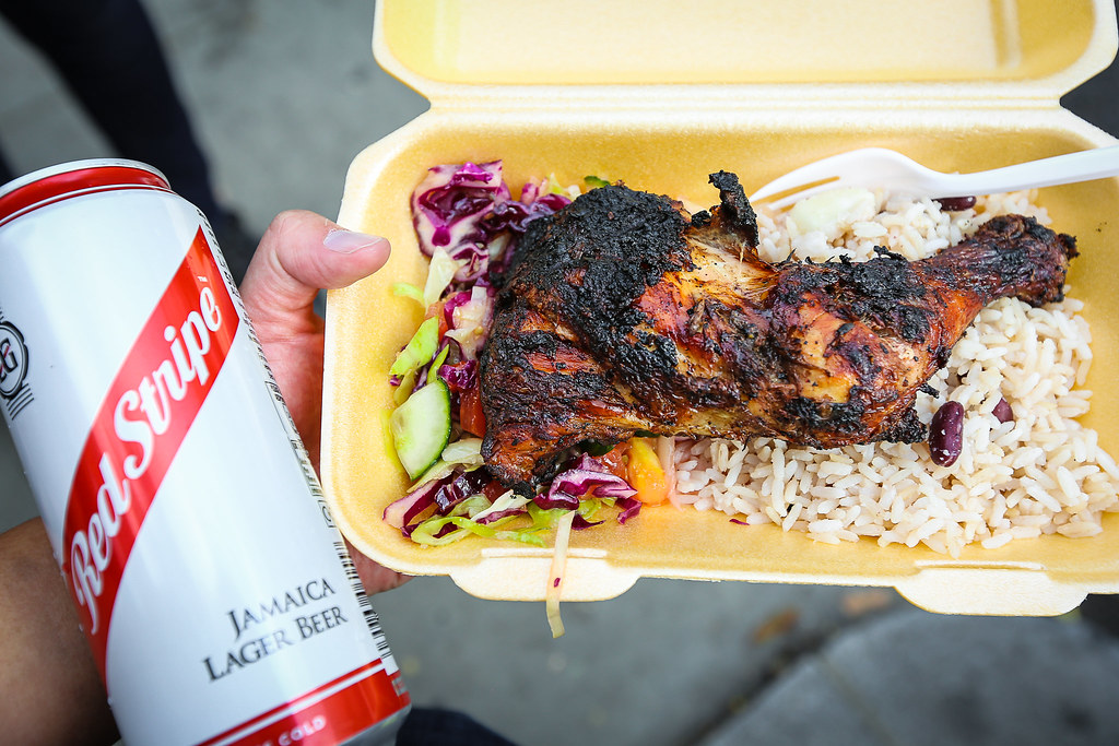 London England Jerk Chicken Street Food Sher Yip Flickr