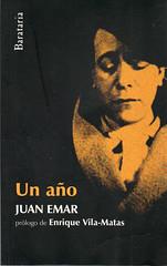 Juan Emar, Un año