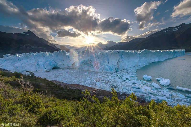 Sunset at the Perito Moreno - Parque Nacional Los Glaciares