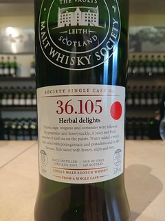 SMWS 36.105 - Herbal delights