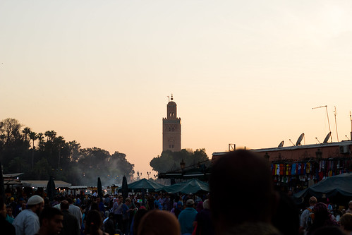 Koutoubia at dusk | by lizziemoch