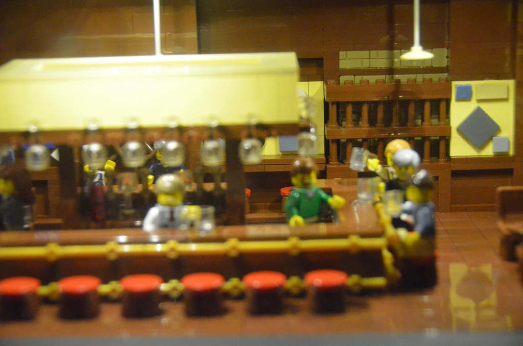 Legoland Somerville (Boston), preview weekend: Cheers bar … | Flickr