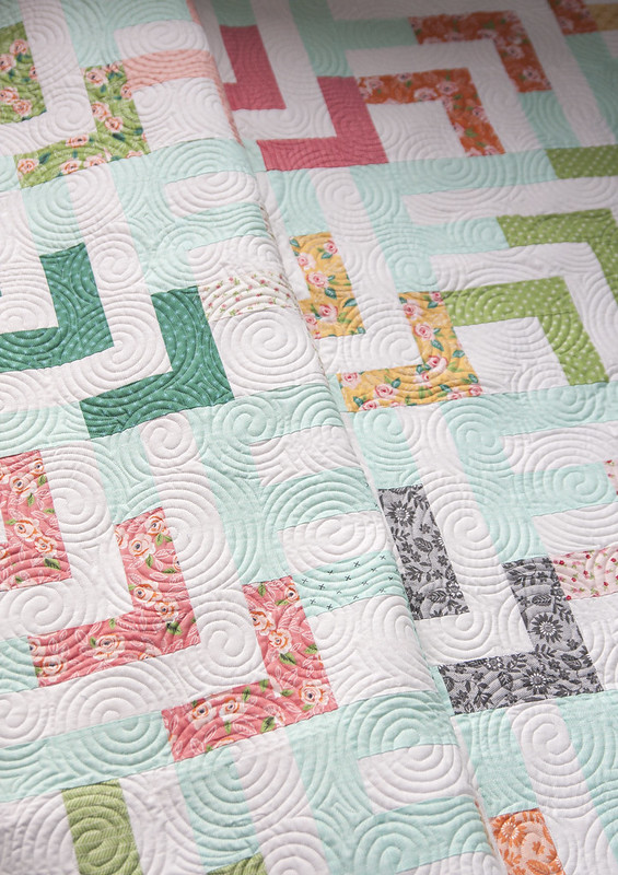Beachcomber quilt by Lella Boutique