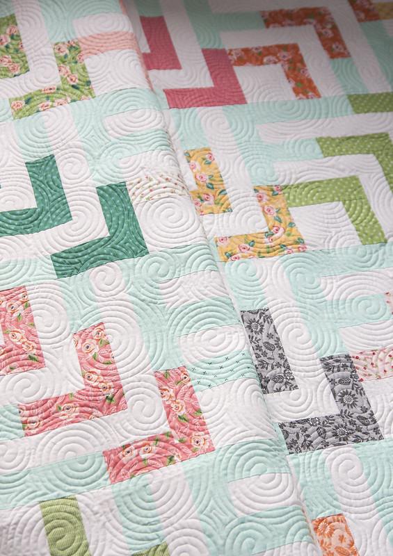 Beachcomber quilt by Lella Boutique