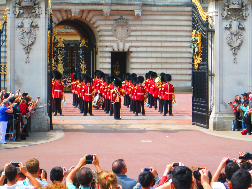 Changing of the Guard Entry Gates, Buckingham Palace