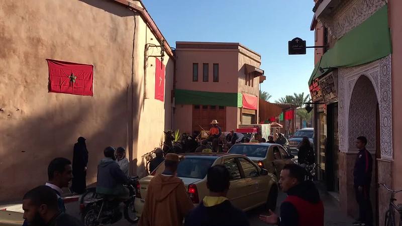Marrakech busyness