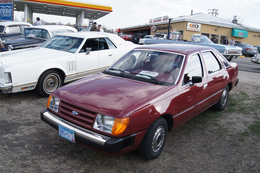 1984 ford tempo gl willmar car club a w country stop cru flickr 1984 Ford Tempo L 1984 ford tempo gl by crown star images