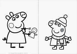 download desenhos do peppa pig para colorir pintar imprimir desenhos peppa  pig pintar.