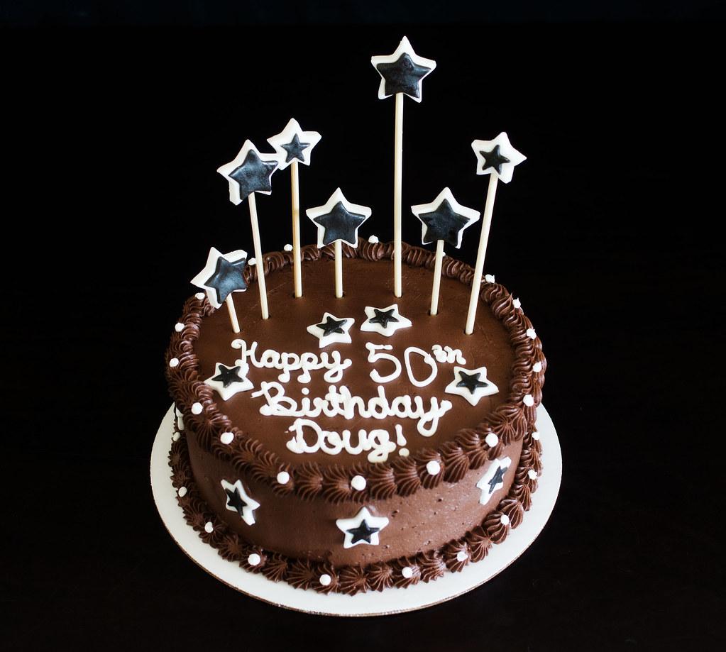 Fun 50th Birthday Cake Kayley Mackay Flickr