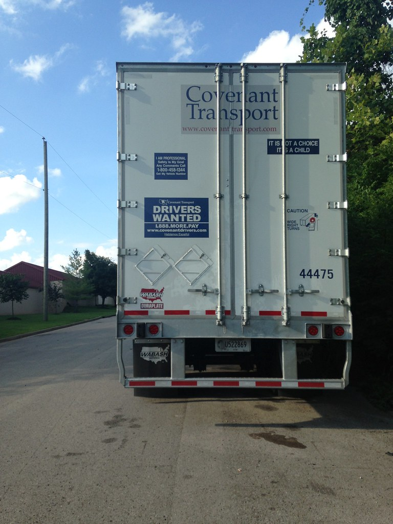 ... Covenant Transport new style trailer doors | by tnsamiam & Covenant Transport new style trailer doors | Hermitage TN ...