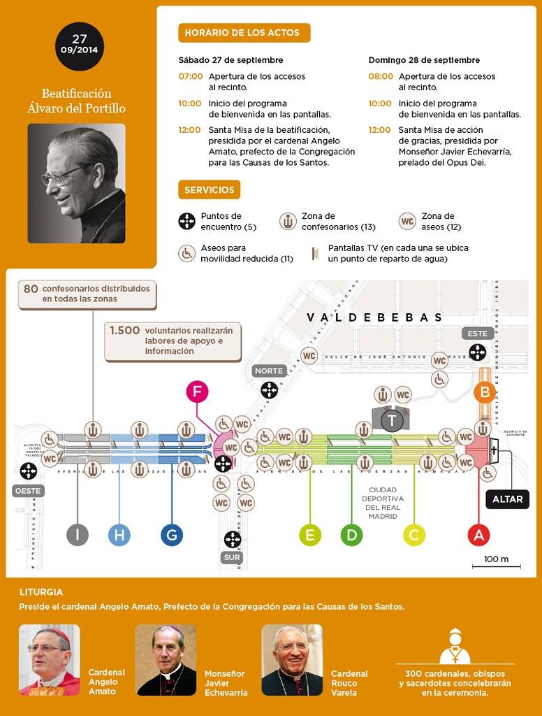 Mapa Valdebebas Beatificacion Alvaro Del Portillo 1 Flickr
