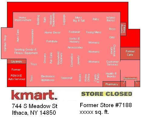 Former ithaca kmart store map some of the departments may flickr former ithaca kmart store map by random retail gumiabroncs Choice Image