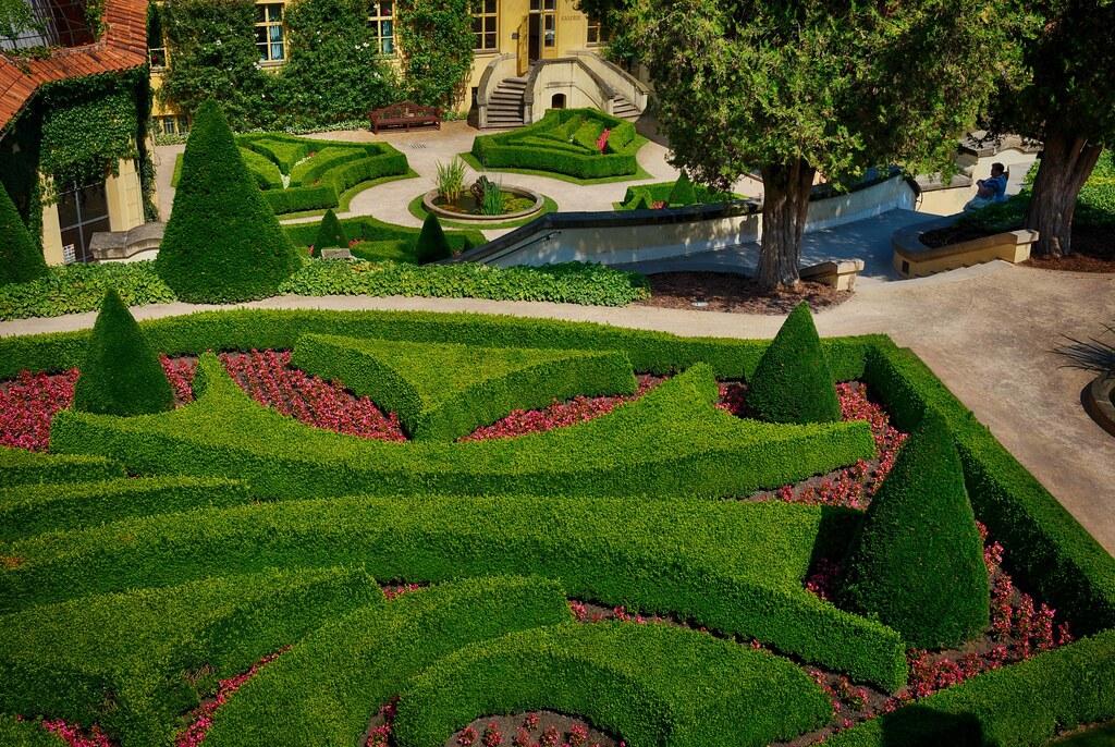 The Vrtba garden in Prague