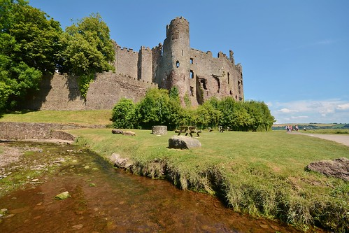 Laugharne Castle | by Paula J James