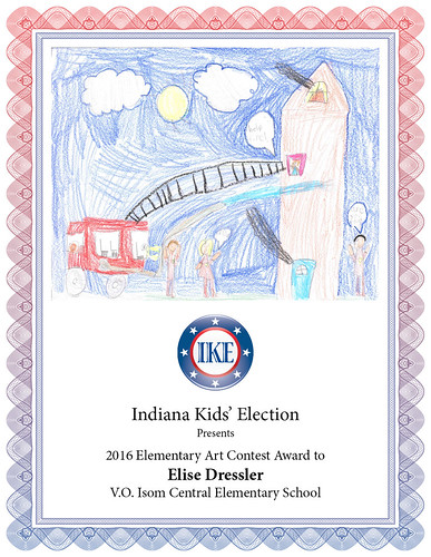 2016 IKE Elementary Art Contest
