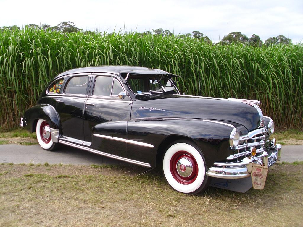 pontiac streamliner eight silver streak sedan 1948 flickr