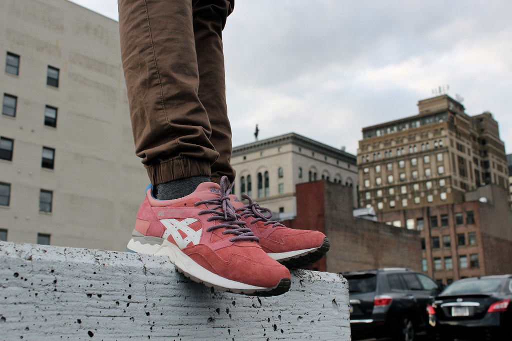 asics ronnie fieg rose