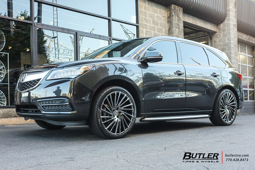 Acura MDX With In Lexani Wraith Wheels And Pirelli Scorp Flickr - Tires for acura mdx