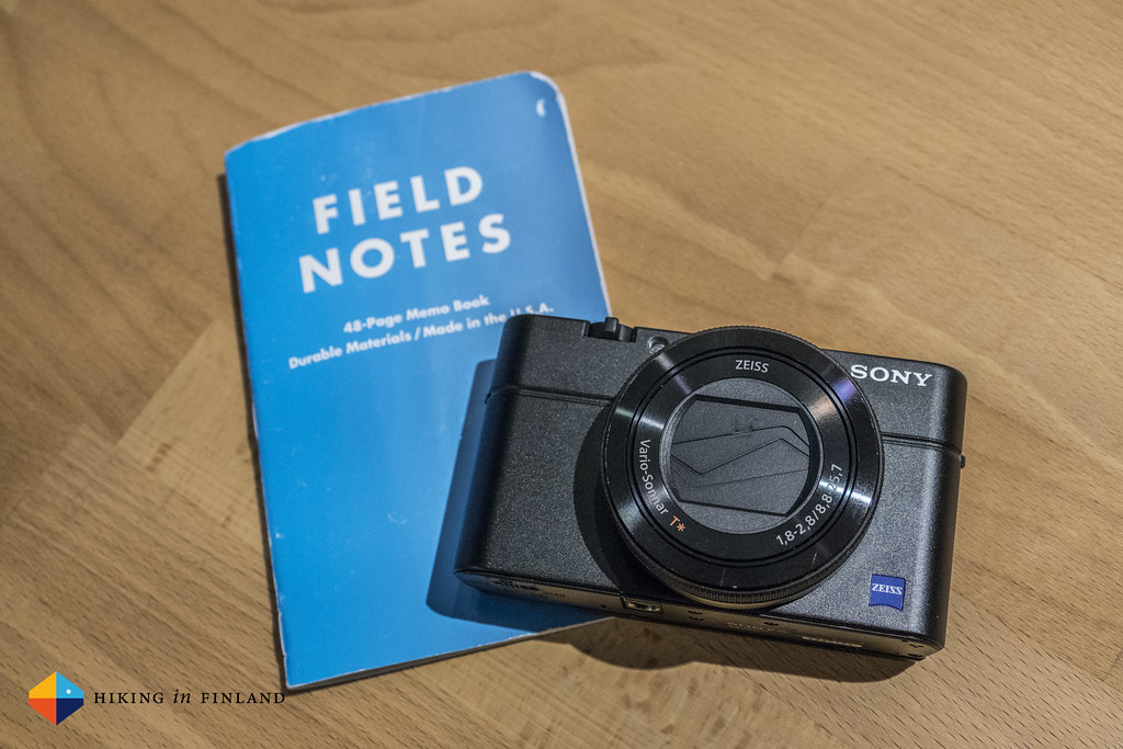 Field Notes x Sony RX100 IV