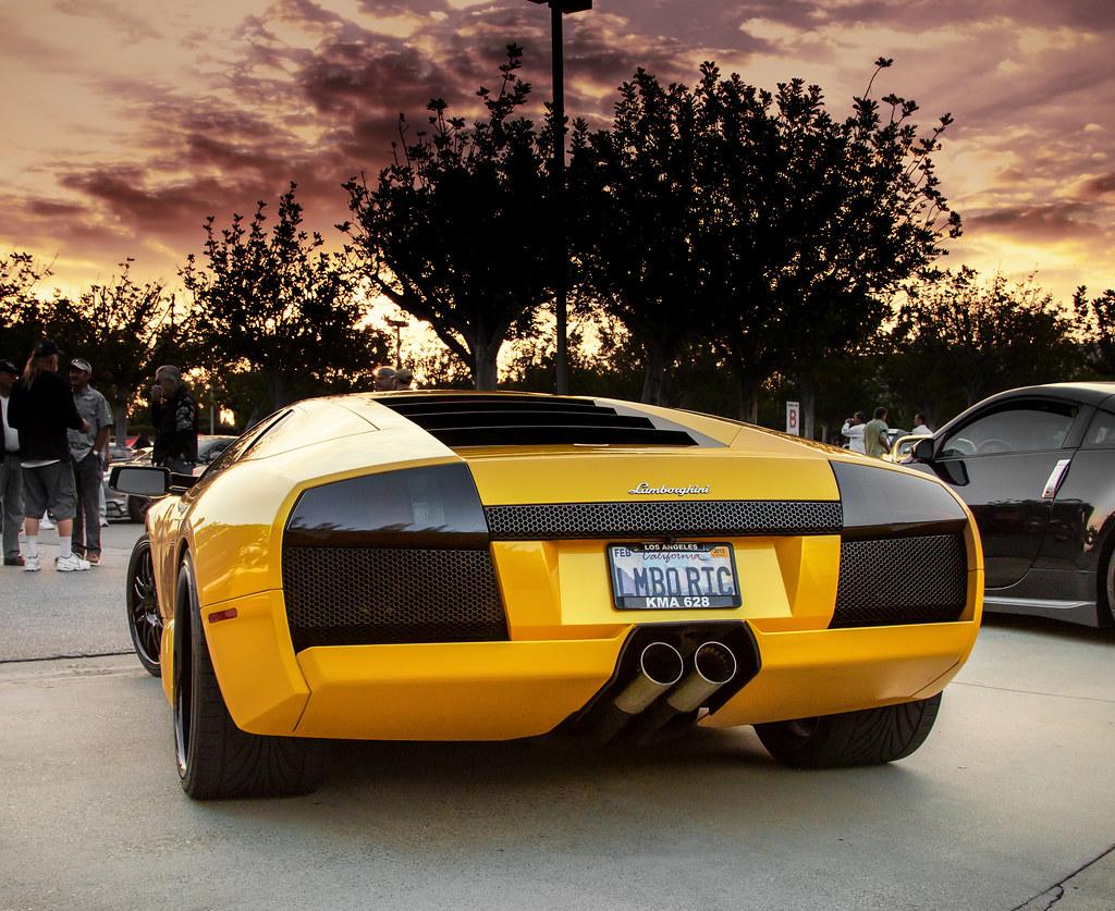 Lamborghini Murcielago At Sunrise Take At Irvine Cars And Flickr