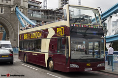 Volvo B9TL Optare Visionaire - PF08 USC - DA210 - Big Bus London - Tower Bridge London - 140926 - Steven Gray - IMG_0063