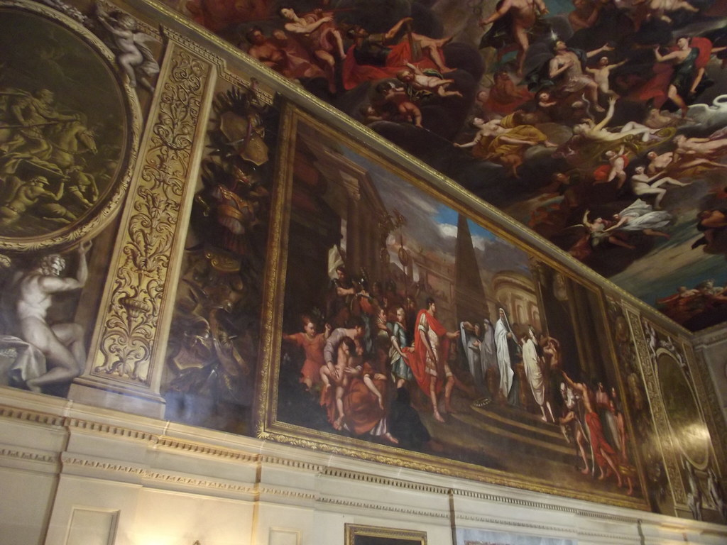 ... Inside Chatsworth House   Painted Hall   Murals | By Ell Brown