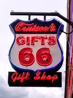 Cruiser's Gifts sign - Route 66, Williams, Arizona | by RoadTripMemories