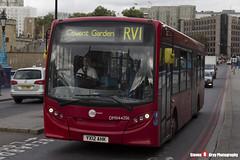 Alexander Dennis Enviro200 - YX12 AHK - DMV44256 - Tower Transit - Tower Bridge London - 140926 - Steven Gray - IMG_0370
