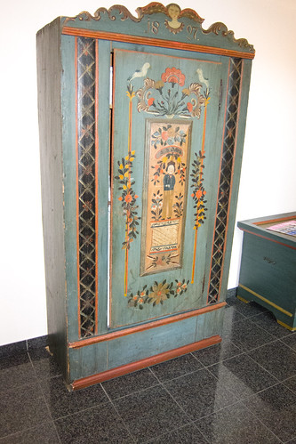 Hand Painted Armoire Furniture In Tonala Jalisco Mexico