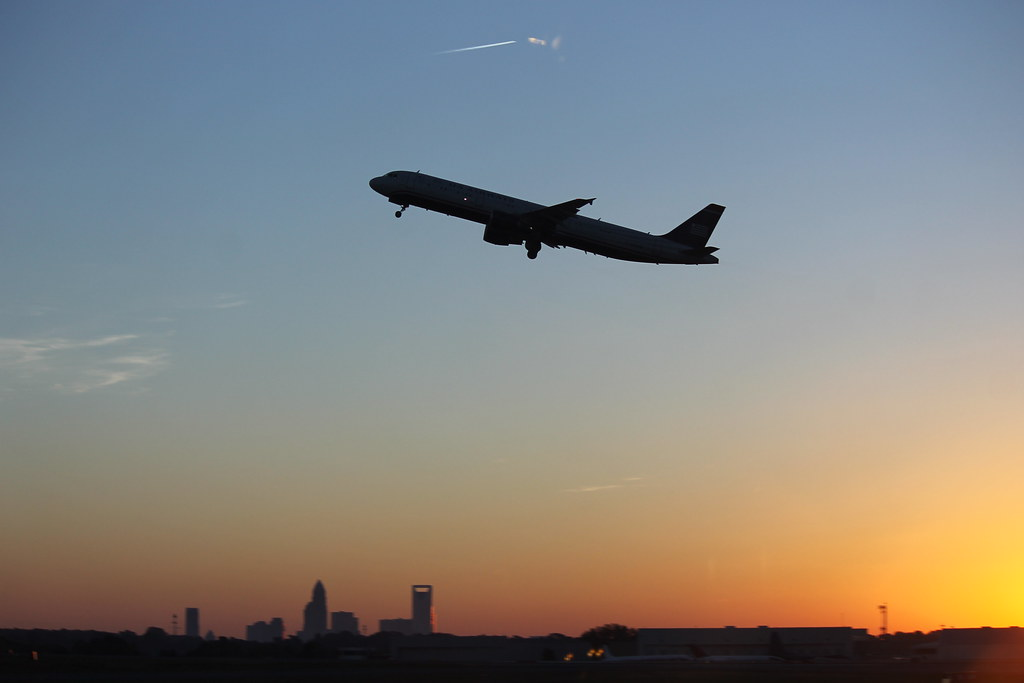 Scenes from Charlotte Douglas International Airport (North Carolina) - Saturday October 18, 2014