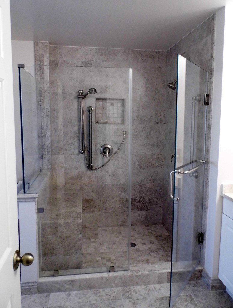 Home Renovation Ideas WalkIn Shower In Master Bath Flickr - Bathroom renovation ideas walk in shower