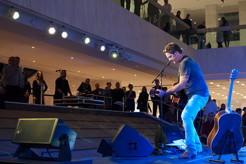 Greg Hanna, Waterfall Stage, First Canadian Place Toronto | by Richard Wintle