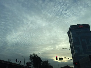 Driving to work clouds. | by whitneybee