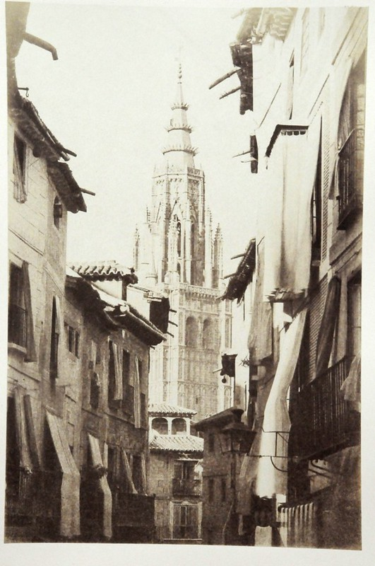 Calle Ancha de Toledo en 1852. Fotografía de Felix Alexander Oppenheim © Museum für Islamische Kunst, Staatliche Museen zu Berlin