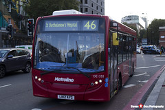 Alexander Dennis Enviro200 - LK12 AYG - DE1332 - Metroline - King's Cross London - 140926 - Steven Gray - IMG_0344