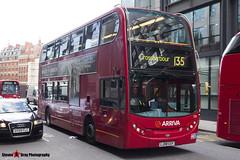 Alexander Dennis Trident Enviro 400 - LJ08 CUY - T25 - Arriva - London - 140926 - Steven Gray - IMG_0189