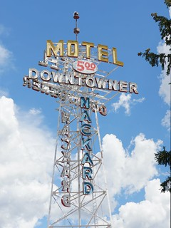 Downtowner Motel sign, Flagstaff, Arizona | by RoadTripMemories