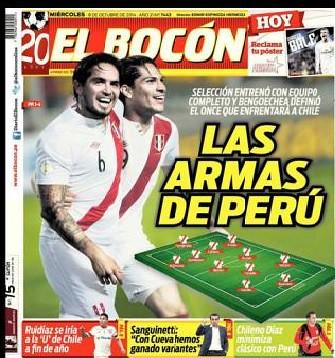 Diario El Bocón Portada Que Demuestra Los Jugadores O Arm Flickr