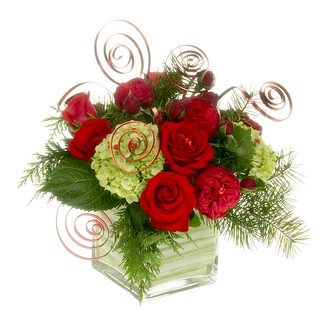 Christmas Flowers - — Leanne and David Kesler, Floral Design Institute, Inc., in Portland, Oregon | by Flower Factor