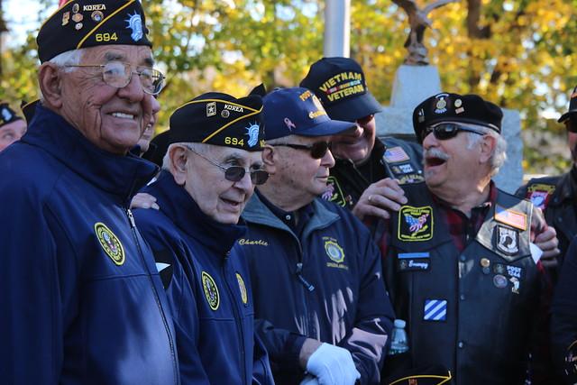 Veteran's Day Memorial 2016