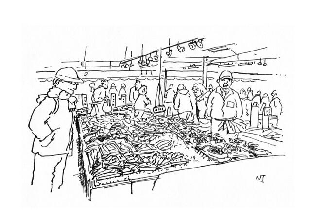 那珂湊おさかな市場(茨城県)