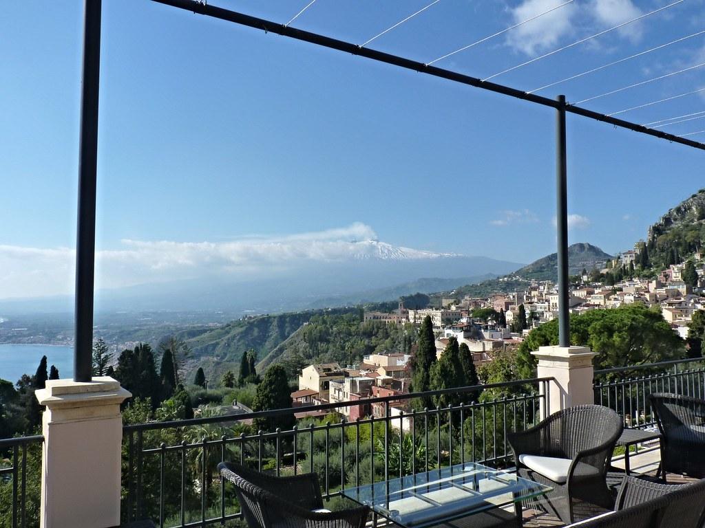 Il magnifico panorama dalla terrazza del Grand\'Hotel Timeo…   Flickr
