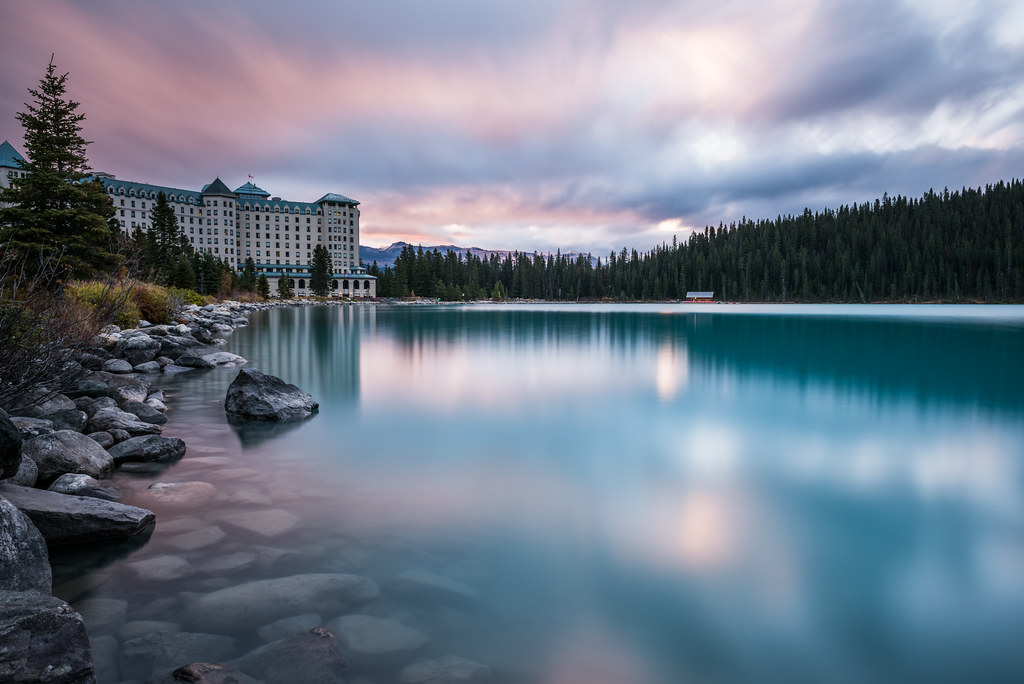 Snowy Fairy Tale – Lake Louise