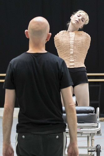 Wayne McGregor and Sarah Lamb in rehearsals for Raven Girl © ROH/Johan Persson, 2013 | by Royal Opera House Covent Garden