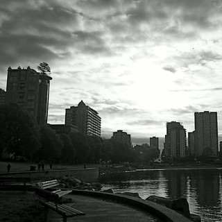 Suns trying to break through on this Sunday Morning in Vancouver . #sun #Sunday #b&w #englishbay #westend #frenweh #wanderlust #travel #foodie #foodporn #vagabond #explorer #traveler #passport #grateful #entrepreneur #vancouver #Canada #bangkok #lumia1020 | by philinbangkok