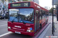 Dennis Dart Plaxton Pointer - LK55 KLJ - DLD695 - Metroline - King's Cross London - 140926 - Steven Gray - IMG_0328
