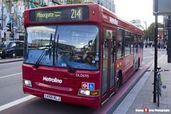 Dennis Dart Plaxton Pointer - LK55 KLJ - DLD695 - Metroline - King's Cross London - 140926 - Steven Gray - IMG_0328