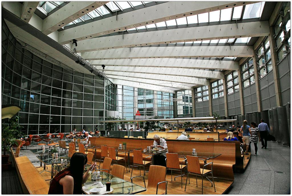 Interior Frankfurt dinner at the commerzbank headquarters norman foster fr flickr